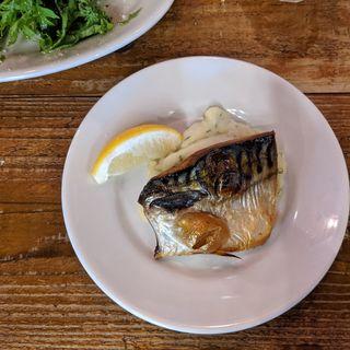 塩鯖とマッシュポテト(東灯)