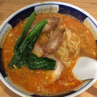 坦麺(だんだんめん)(支那麺 はしご 赤坂店 (しなめんはしご))