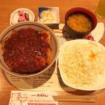 ミソカツ丼定食