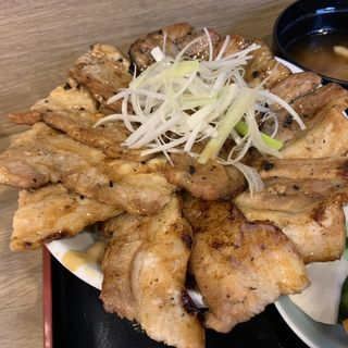 酒場の豚丼(肉増し)(日本豚園 八丁堀店)