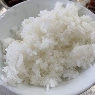 白御飯(銀シャリ屋 ゲコ亭 (ぎんしゃりや げこてい))