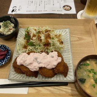 チキン南蛮定食(七三飯)