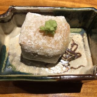 焼き胡麻豆腐(銀座うち山)