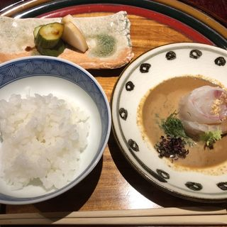 鯛茶漬け(銀座うち山)