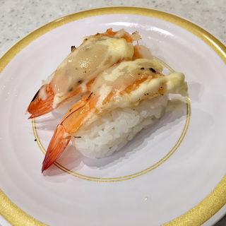 えびチーズマヨ炙り(かっぱ寿司 仙台長町店 )
