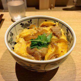 蕎麦屋の親子丼(蕎麦酒処 空庵)
