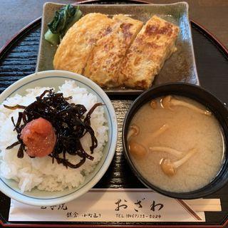 玉子焼御膳(玉子焼 おざわ)