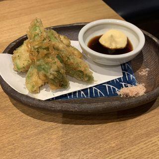 アボカドの天ぷら(うどん麺蔵 ゆうのや)