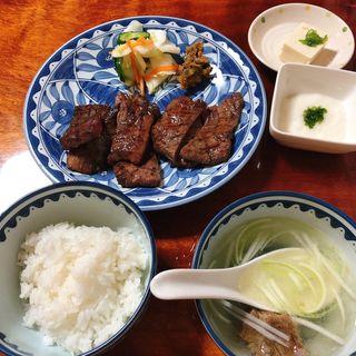 牛タンセット(萃萃 (すいすい))