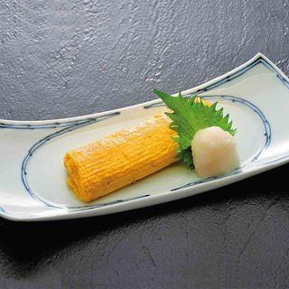 出汁巻き玉子(あげたち 匠の細麺 つるとんたん (大国町))