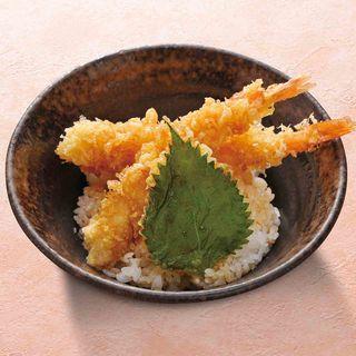 海老天小丼(あげたち 匠の細麺 つるとんたん (大国町))