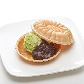 最中アイス(バニラ・抹茶)(つるとんたん TOP CHEFS)