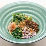 特製肉味噌と四川花山椒 しびれピリ辛 坦々麺のおうどん