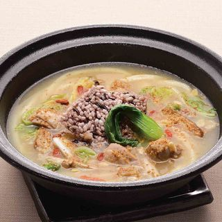 薬膳仕立て 胡麻 鶏白湯スープのおうどん(麺匠の心つくし つるとんたん 宗右衛門町店)