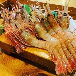 海老食べ比べ(鮨新 )
