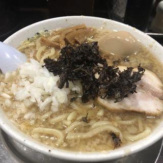中華そば 背脂中油(らーめん 潤 蒲田店 (らーめん じゅん))
