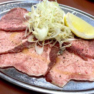 牛ネギタン(塩)(ホルモン焼肉 かど屋 )
