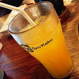 オレンジジュース(牛角 蒲田店 (ギュウカク))