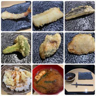 天ぷらランチ(天ぷらいちば)