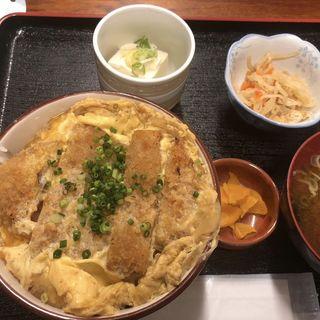 ロースカツ丼(週替わり定食)(八丁堀 朋)