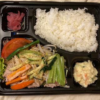 牛冷しゃぶ弁当 特製胡麻だれ(ミート&ランチ オダカ )