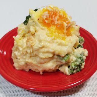 炙り明太子と桜海老のポテトサラダ(和食屋の惣菜えん 渋谷東急フードショー店)