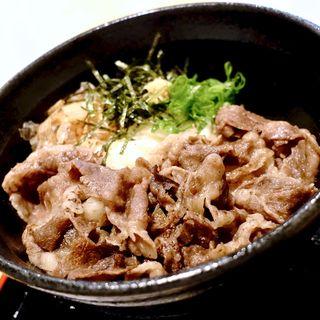 しほろ牛 肉ぶっかけ(うどん上々 )