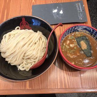 濃厚魚介味噌つけ麺(三田製麺所 水道橋店)