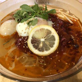韓国風ユッケ冷麺