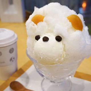 白くまかき氷(ジャパニーズアイス櫻花)