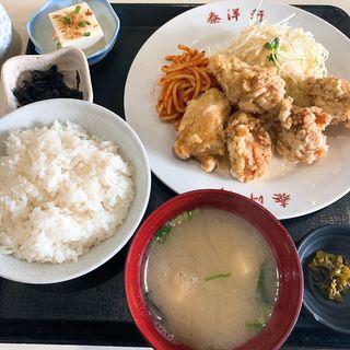 唐揚げ定食(泰洋軒 )