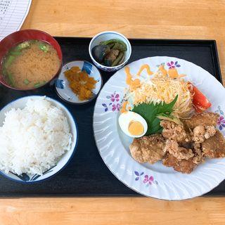 かしわの唐揚げ定食(喰焼処 (くやくしょ))