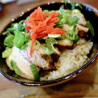 ミニ焼豚丼(亭亭 )