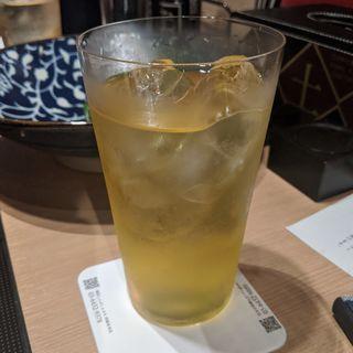 緑茶ハイ(しゃぶしゃぶ九)