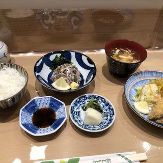 鰯の刺身定食(中嶋)