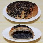 黒ごまクリームパン
