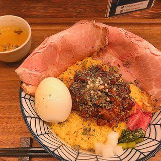 マサラ肉味噌丼(チャートピ)