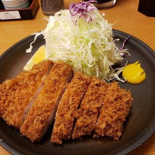 上ロースかつ定食(とんかつ大門 檍 (トンカツダイモン あおき))