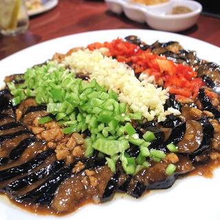 ナスの味噌炒め(醤扒茄子)(小城)