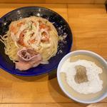 ヴィシソワーズ風冷製つけ麺(大阪麺哲 (メンテツ))