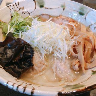 塩+海老ワンタン(いち井 (いちい))