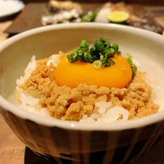 黒岩土鶏そぼろの玉かけご飯(創和堂-sowado-)