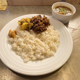 あいがけカレー(Curry&cafe PIVO)