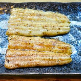 天然鰻白焼き(かぶと )