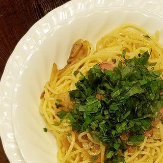 新生姜とベーコンのスパゲッティ(ラ・タベルナ )