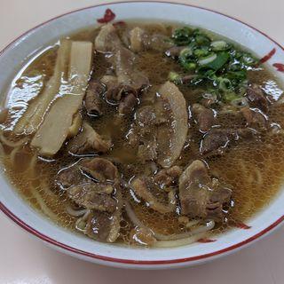 中華そば・肉入中盛(いのたに 本店 )