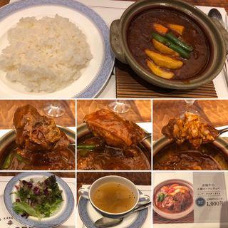 赤城牛の土鍋ビーフシチュー(NIKKO KANAYA HOTEL CRAFT GRILL (日光金谷ホテル クラフトグリル))