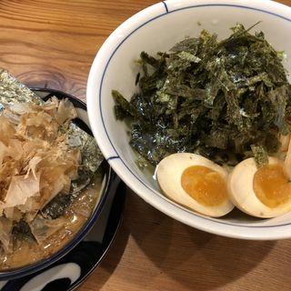 大阪のりのりつけ麺(別邸三く 豚骨らーめん真真)