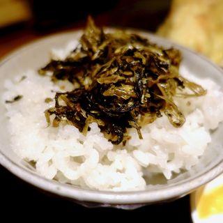 高菜ちりめんご飯(うどん日和 )