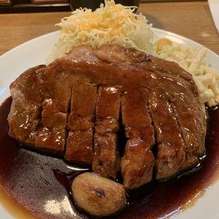 トンテキ定食(大阪トンテキ 大阪駅前第2ビル店 (【旧店名】とんとん屋))